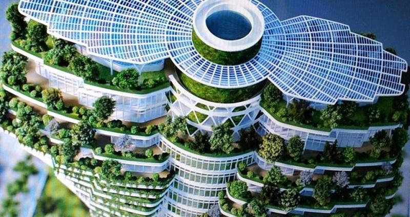 Самые необычные архитектурные сооружения современного зодчества