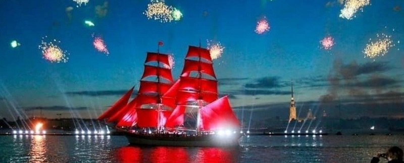 Фестиваль «Алые паруса 2018» посетило 1,2 млн. человек