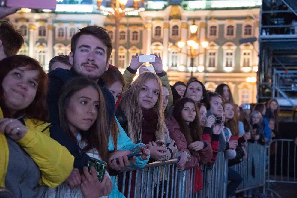 На праздник пришли десятки тысяч людей
