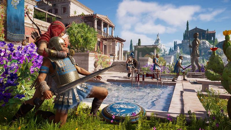Новая игра Assassin's Creed Odyssey предлагает отправиться в путешествие по Древней Греции