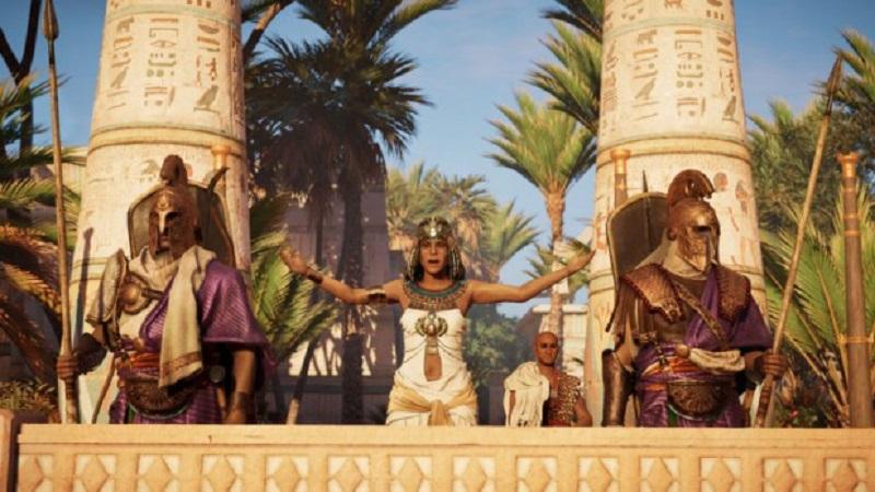Assassin's Creed Odyssey стала самой популярной из геймплэйев 2018 Юнисофт