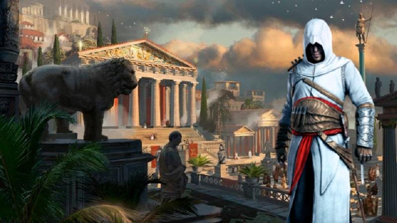 Assassin's Creed Odyssey предлагает отправиться в путешествие в образе Алексиуса