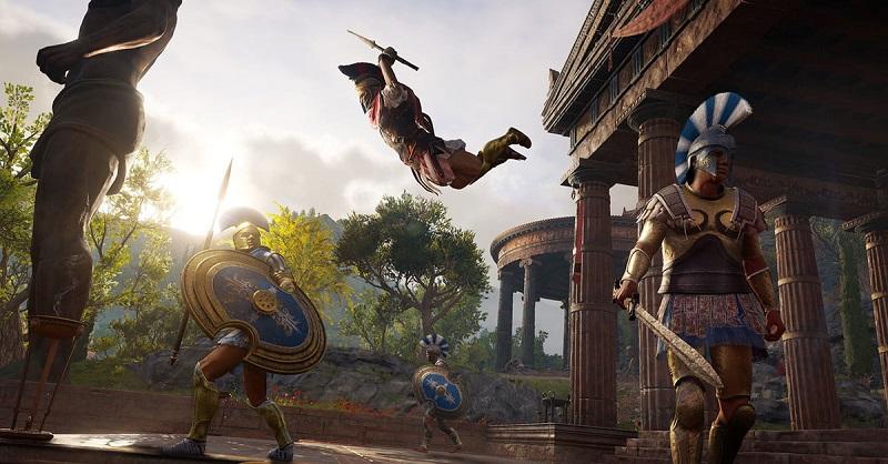 Новый геймплэй Assassin's Creed Odyssey выйдет 5 октября
