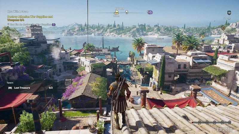 Путешествия по морю и битвы предлагает игрокам Assassin's Creed Odyssey