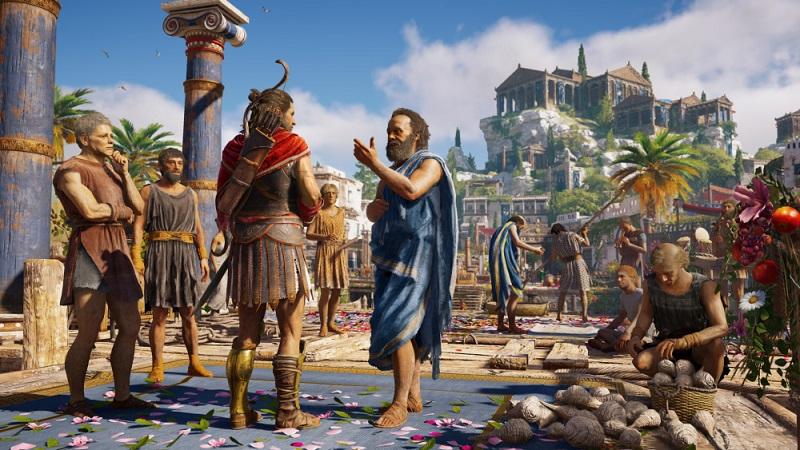 Очень занимательная игра Assassin's Creed Odyssey