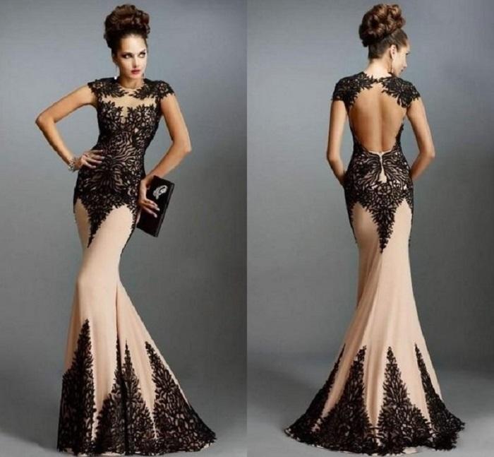 Девушка в длинном платье в пол может иметь  достаточно роковой вид