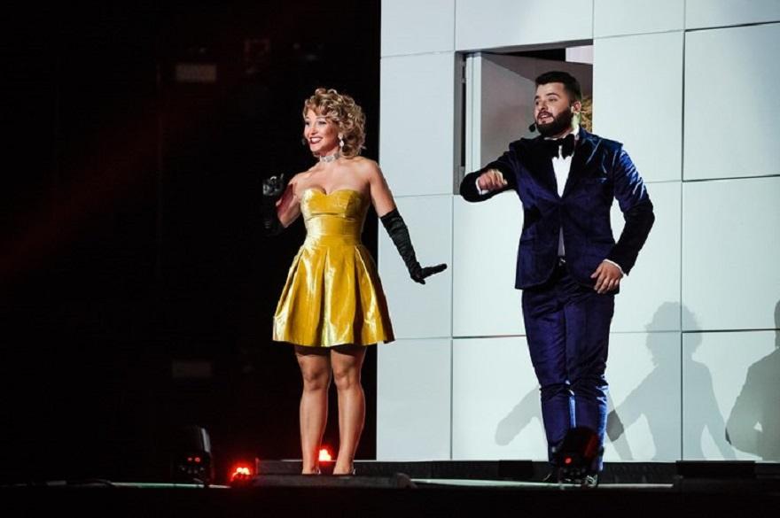ДоРеДос выступила во время концерта