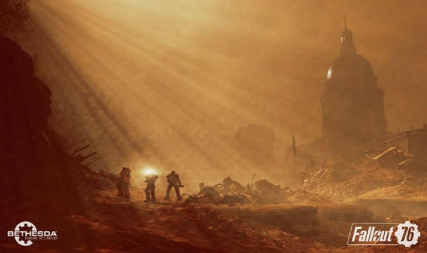 Выживание во вселенной в новом геймплэйе Фолаут 76