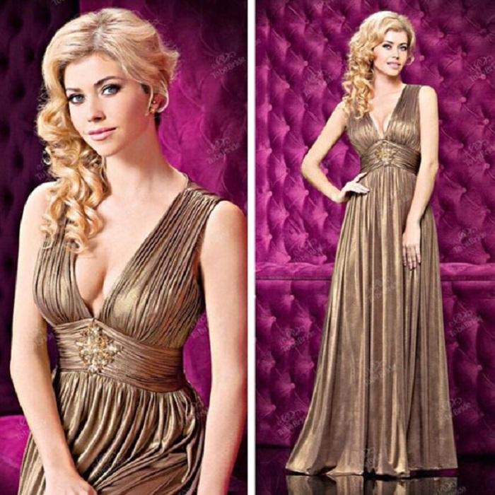 Греческий стиль в выпускном платье