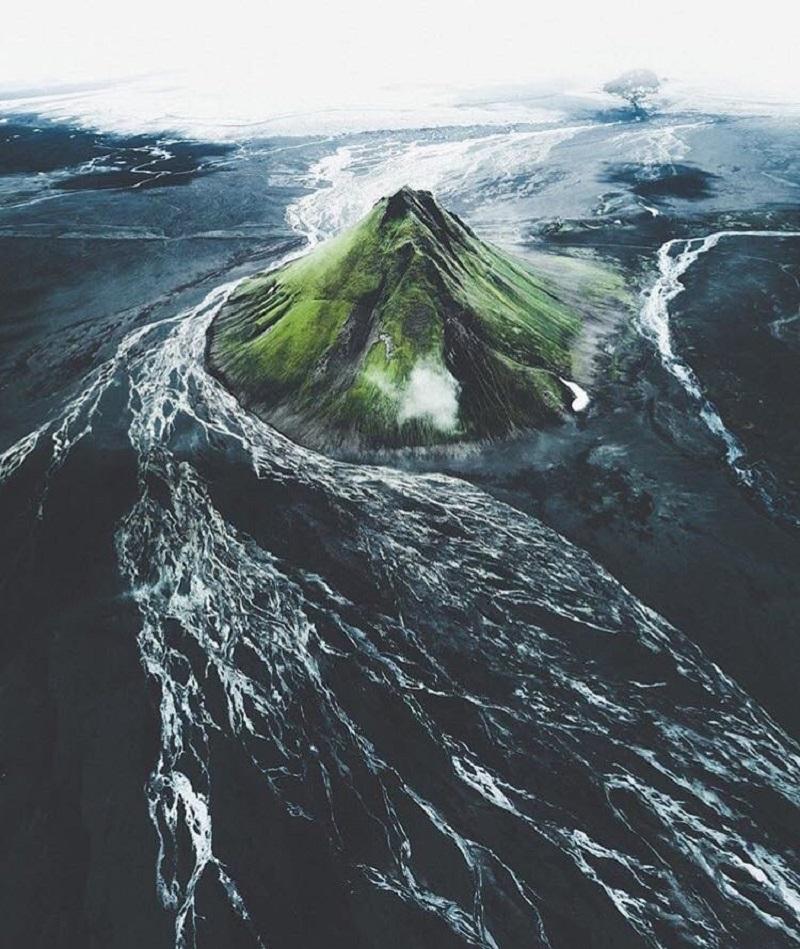Очень красивые пейзажи Исландии