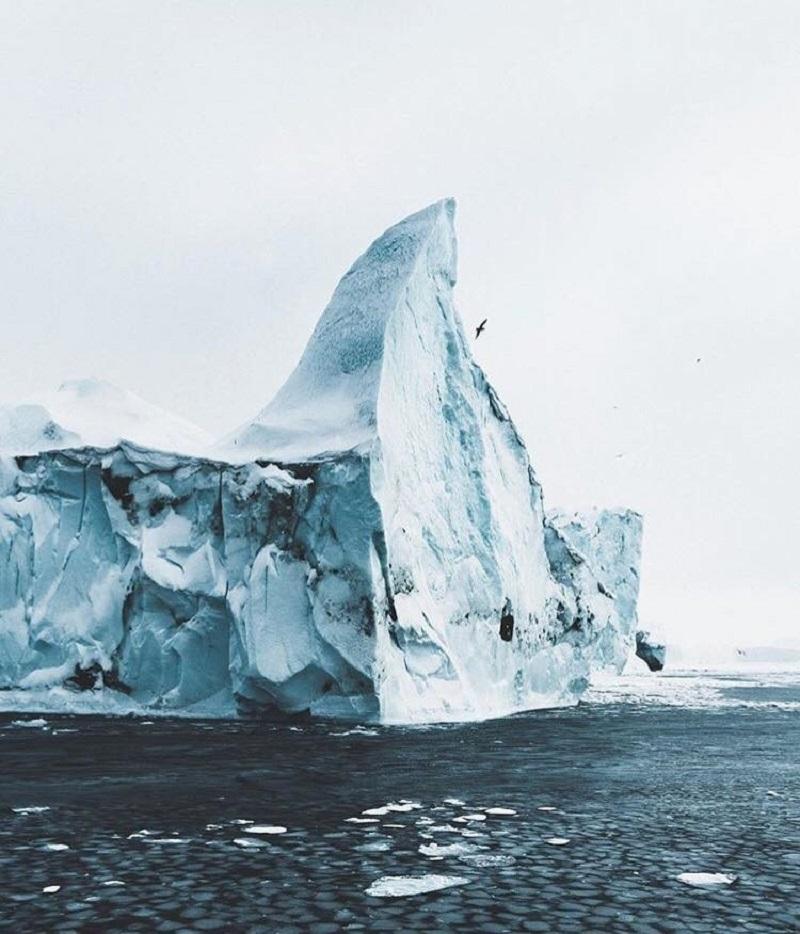 Ледники Исландии очень красивы