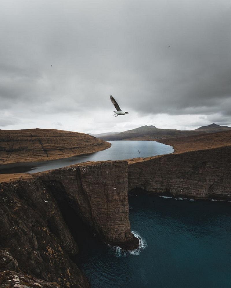 Таинственные исландские пейзажи