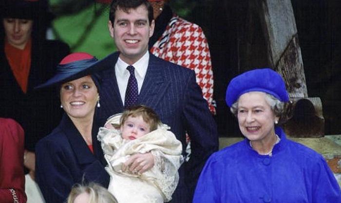 Крещение королевской семьи