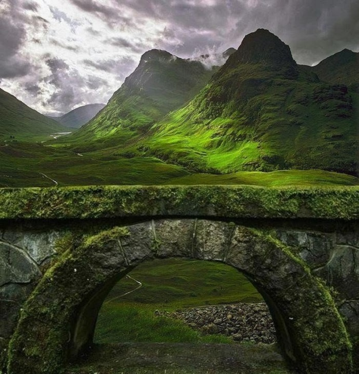 Красивая природа породила много загадочных рассказов