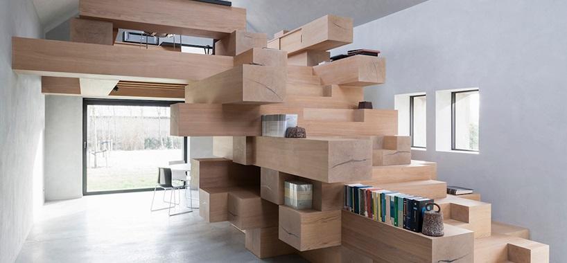 20 интересных идей для дизайна лестницы. Фото
