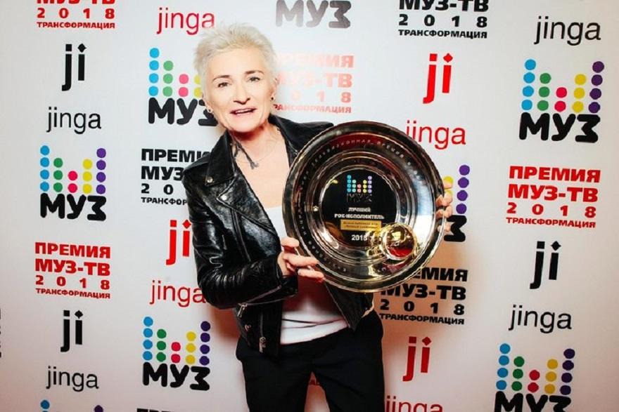 Диана Арбенина стала лучшим рок-исполнителем