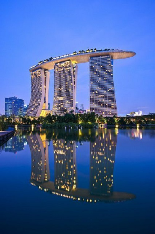 Marina Bay Sands, Сингапур
