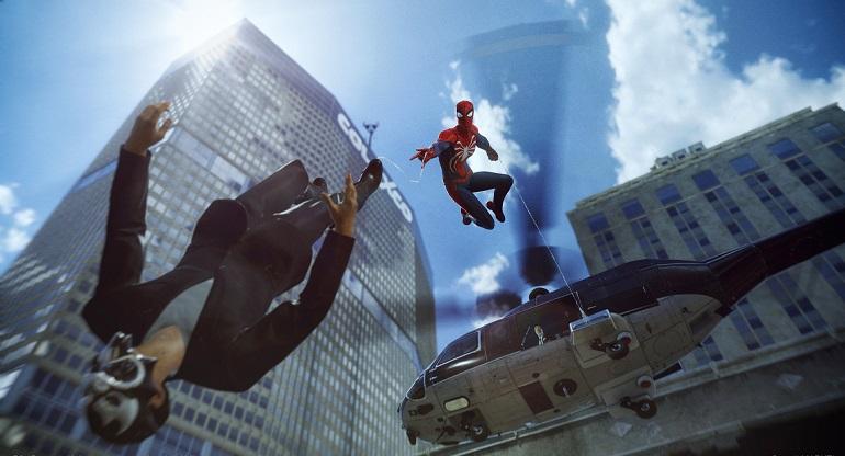 Spider-Man сможет передвигать с помощью паркура