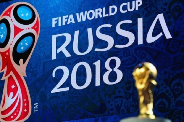 Фото с открытия Чемпионата мира по футболу 2018