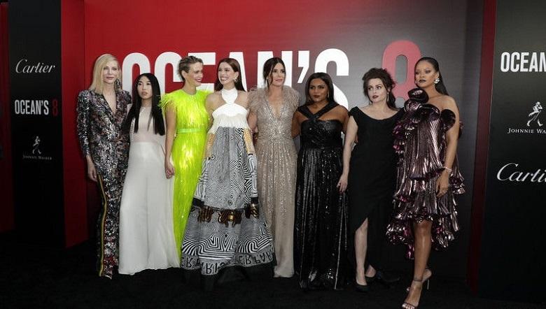 Голливудские актрисы на премьере фильма