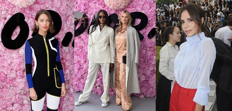 Звёздные гости показа новой коллекции Christian Dior Homme весна-лето 2019