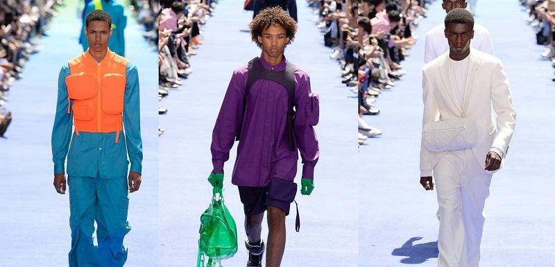 Первая коллекция мужской одежды Вирджила Абло для Louis Vuitton: фото с подиума