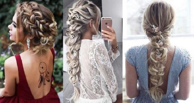Выпускницы 2018 года могут выбрать различные плетения кос для причёски