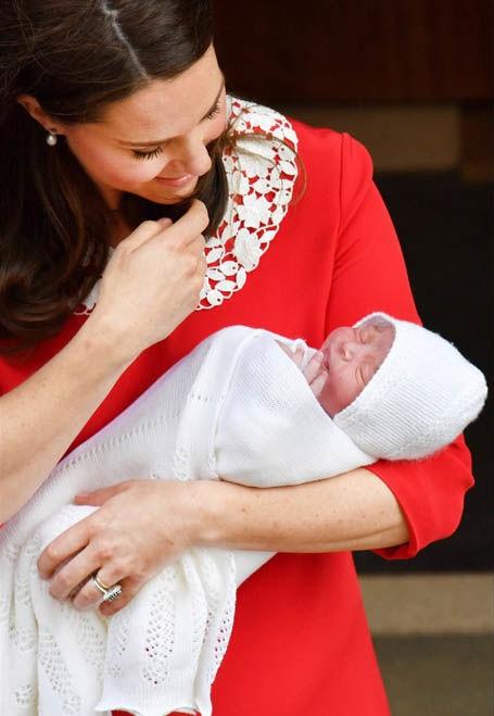 Принц Луи с мамой