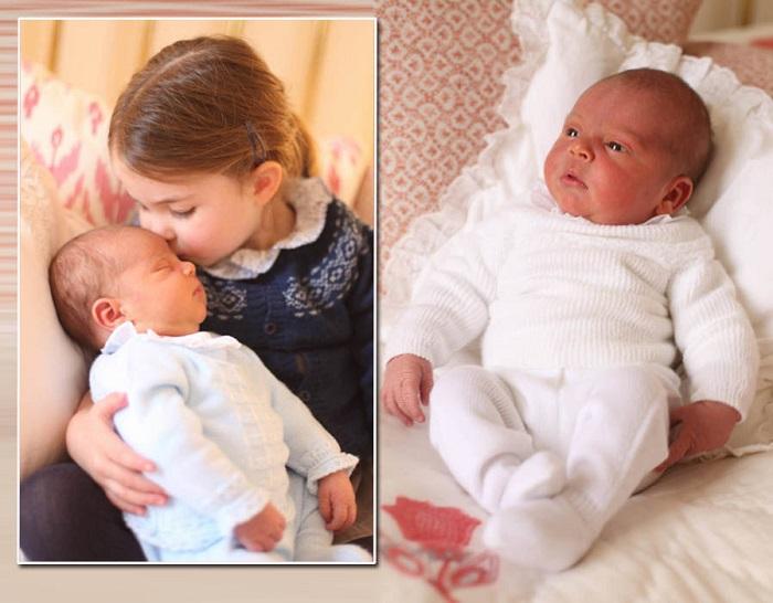 2 мая. День рождения принцессы Шарлотты. Сестра нежно целует брата