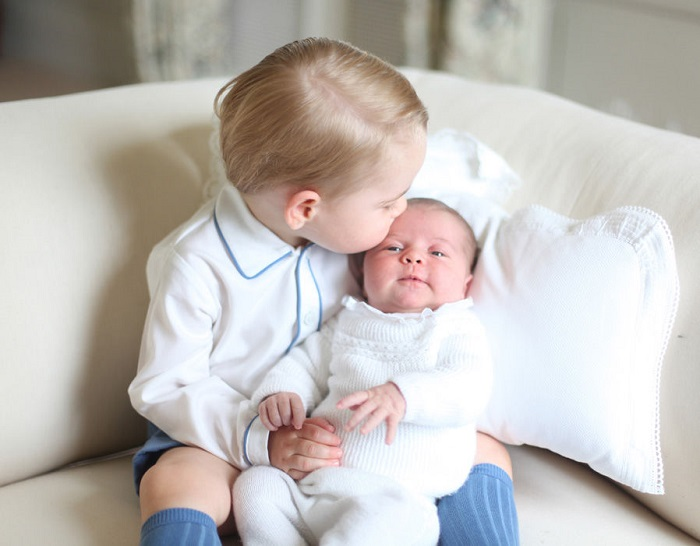 Принц Джордж и принц Луи