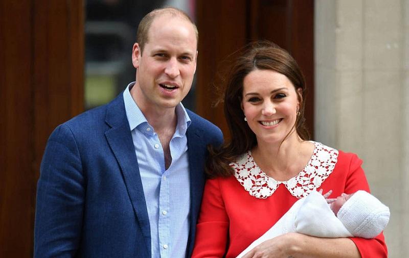 Королевский малыш: первые фото принца Луи