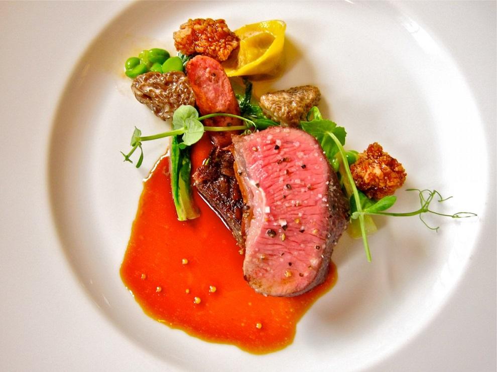 Мясо в лучшем ресторане