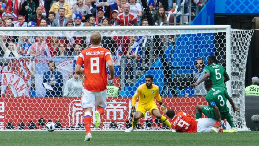 Россияне забили 5 голов