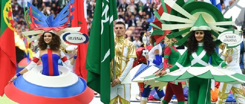 Новые фото с церемонии открытия Чемпионата мира по футболу — 2018