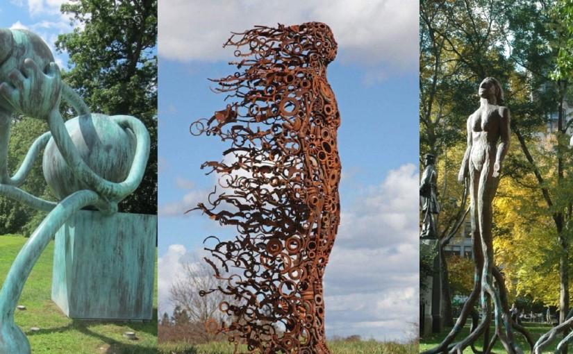 Садово-парковое искусство: галерея необычных скульптур
