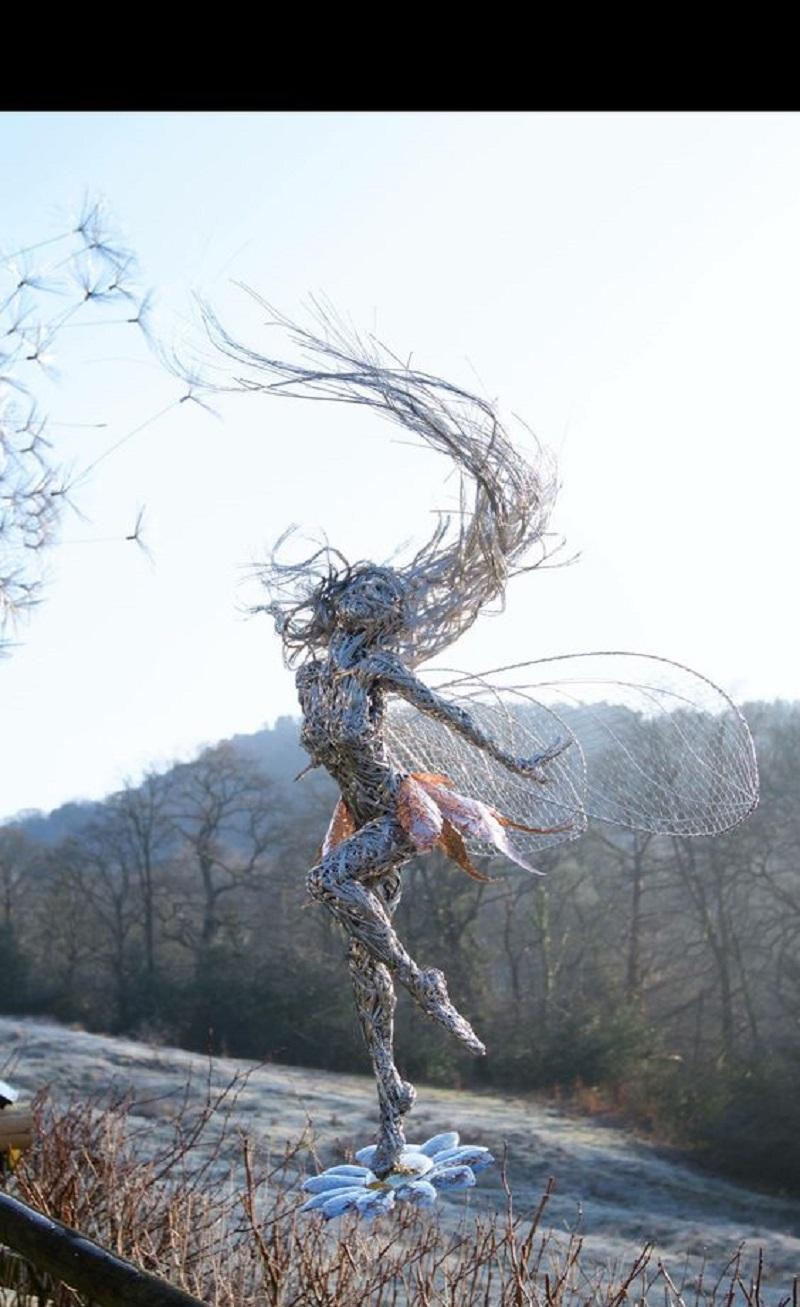 Потрясающие феи из проволоки