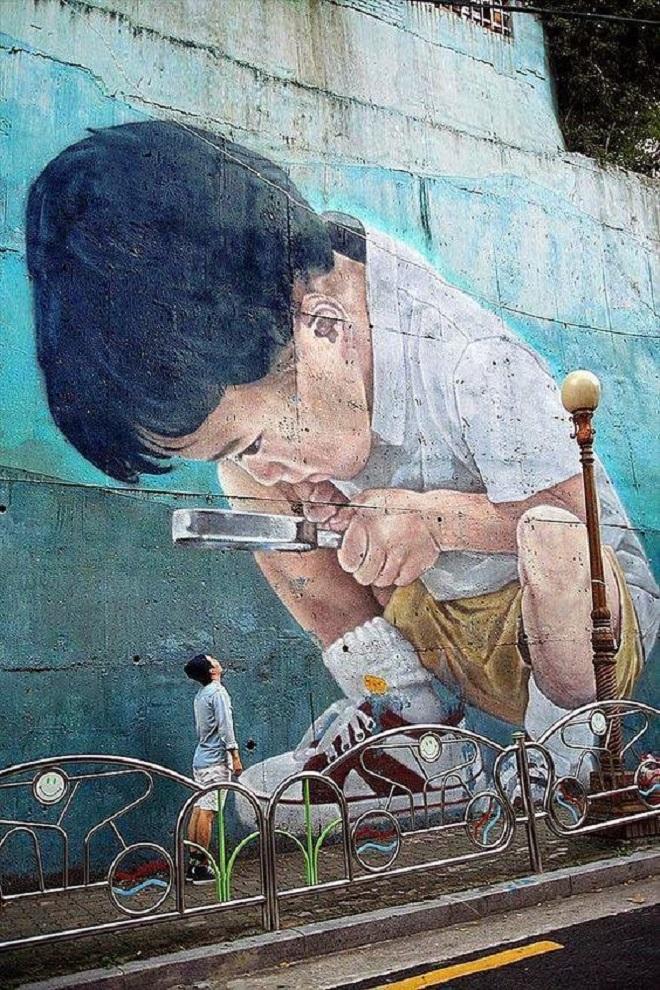 Главная цель стрит-арта - вступить в диалог со зрителем