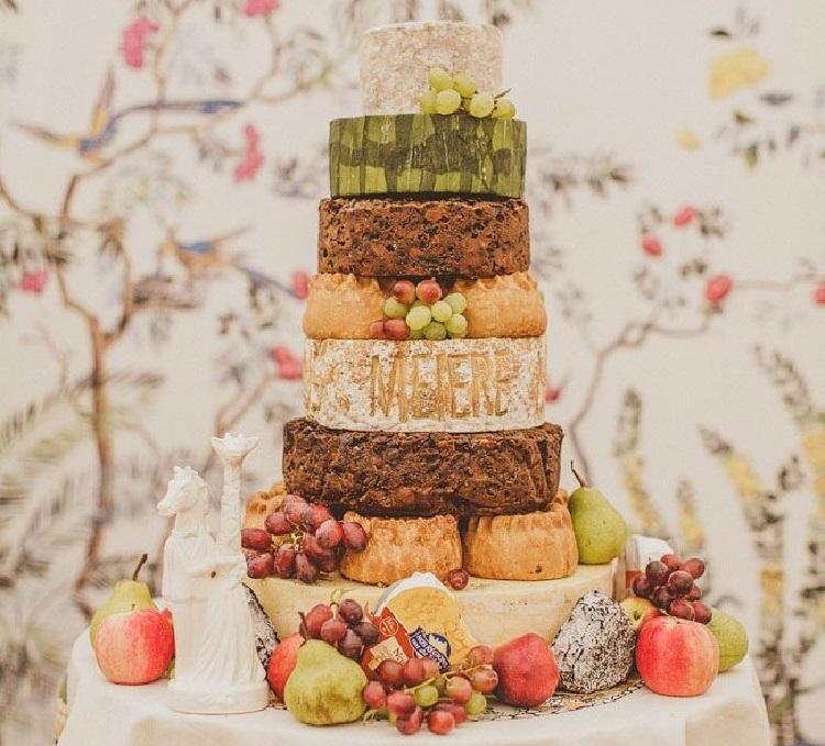 Сырный торт с экзотическими фруктами