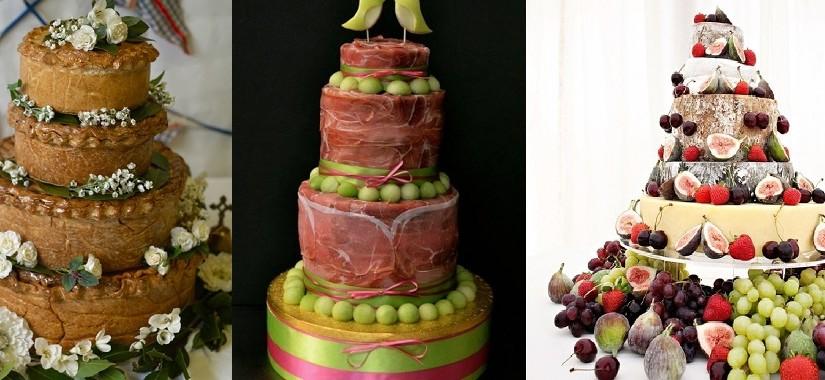 Сырные и мясные торты для тех, кто не любит сладкое. Фото