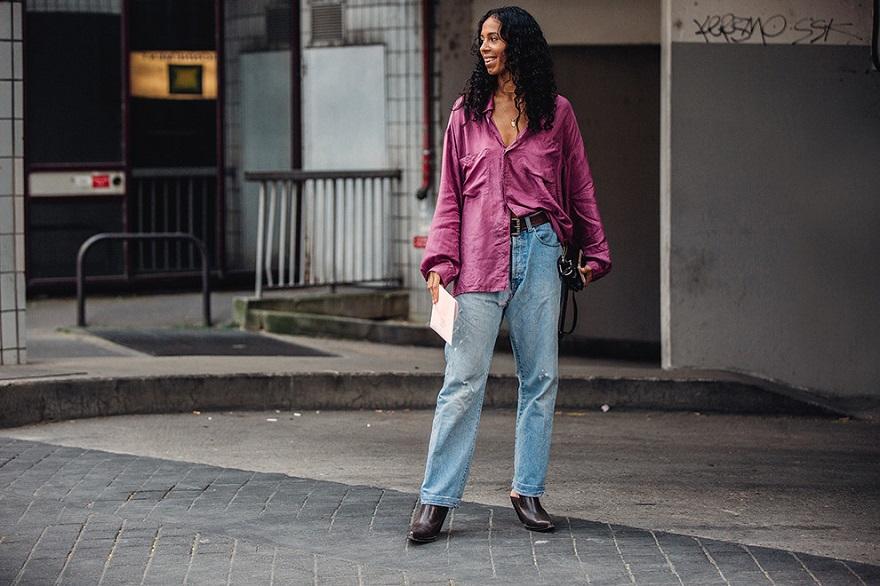 Уличная мода Парижа-04