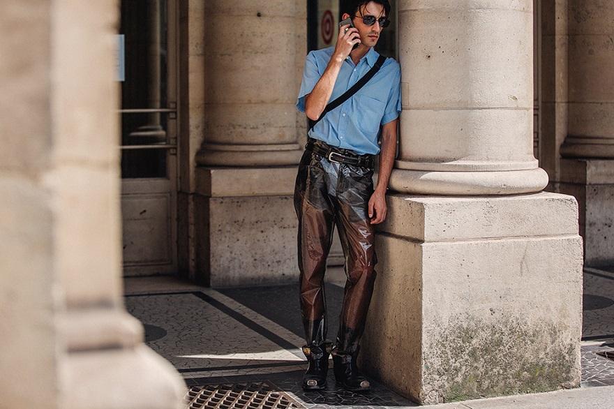Уличная мода Парижа-05