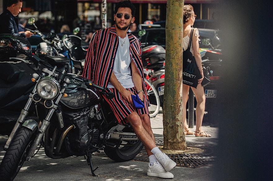 Уличная мода Парижа-06