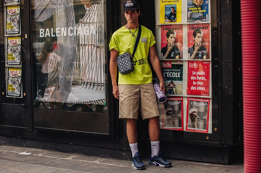 Уличная мода Парижа-07