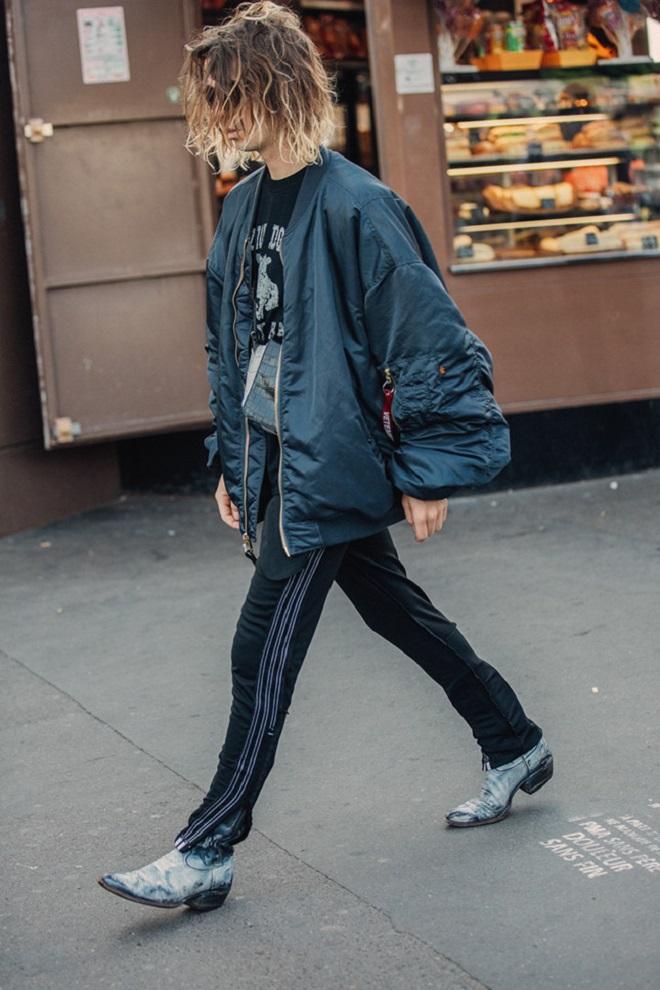 Уличная мода Парижа-10