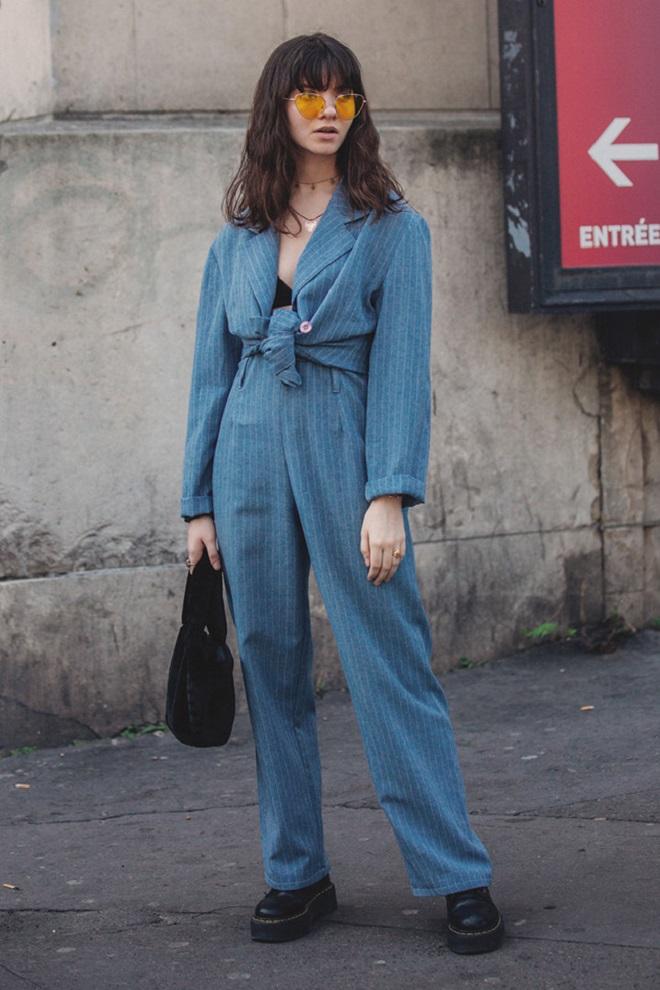 Уличная мода Парижа-13