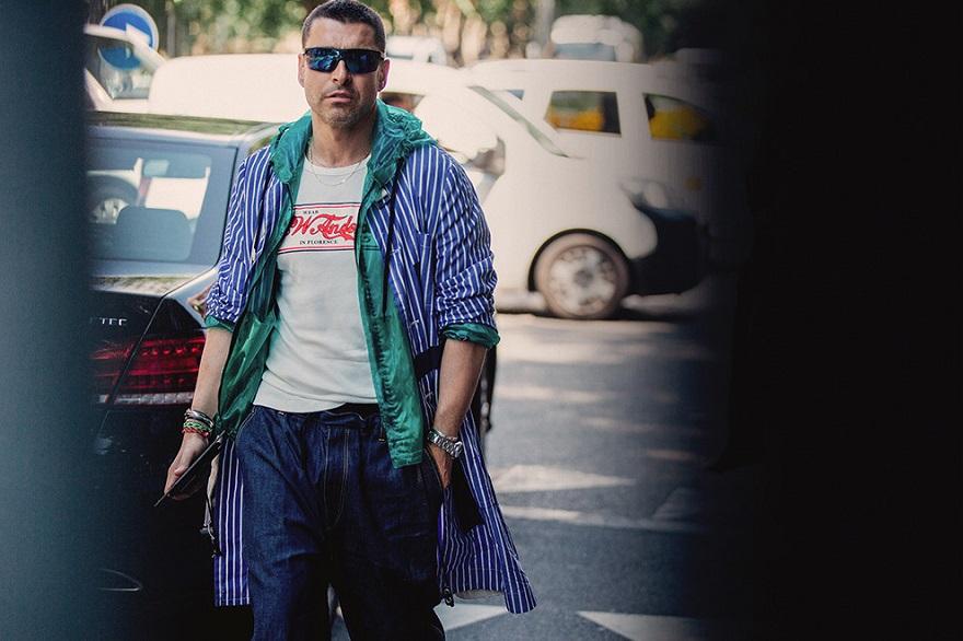 Уличный стиль Милана 2018-01