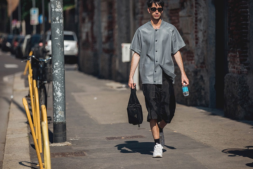 Уличный стиль Милана 2018-05