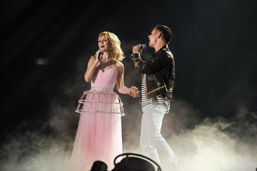 Валерия и Стас Пьеха спели песню в дуэте