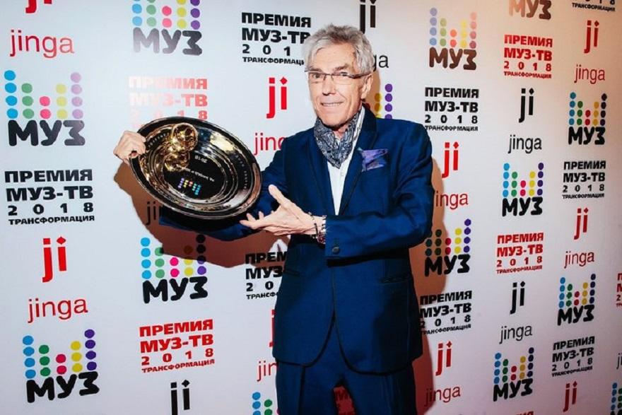 Премию за вклад в жизнь получил Юрий Николаев