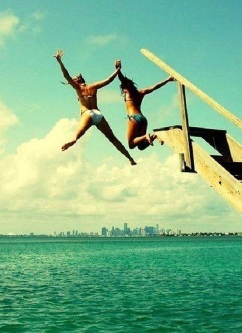 Очень забавные прыжки